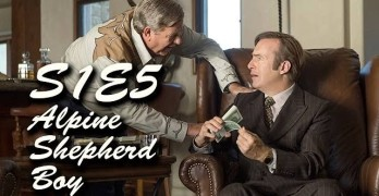 Better Call Saul Alpine Shepard Boy (S1E5) Review