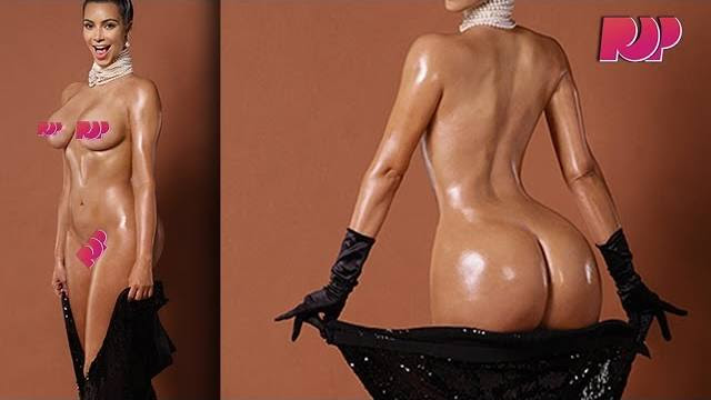 Kim Kardashian Full Frontal Nude Pictures And The Story -4822