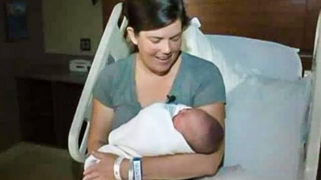 Pregnant lady in labor