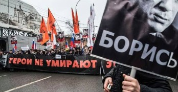Protest Sparked By Putin Critic's Murder