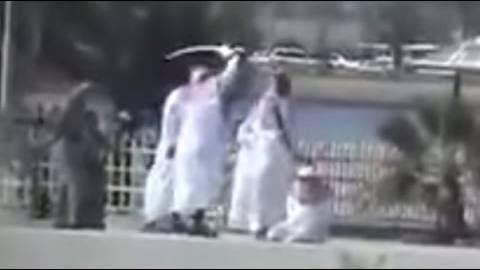 Warning extremely graphic beheading video in saudi arabia jpg